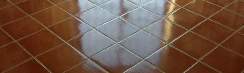 Terracotta Tiled Floor Cleaned and Sealed