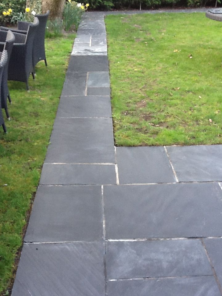 Slate Patio Paving Restored Tile Cleaners Tile Cleaning