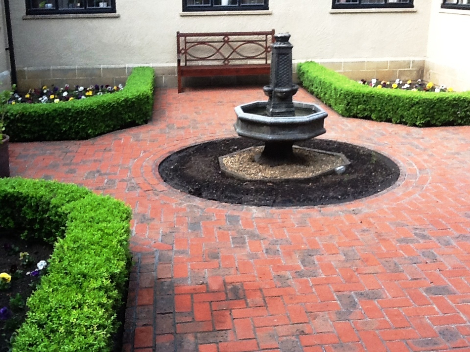 Courtyard Cleaning