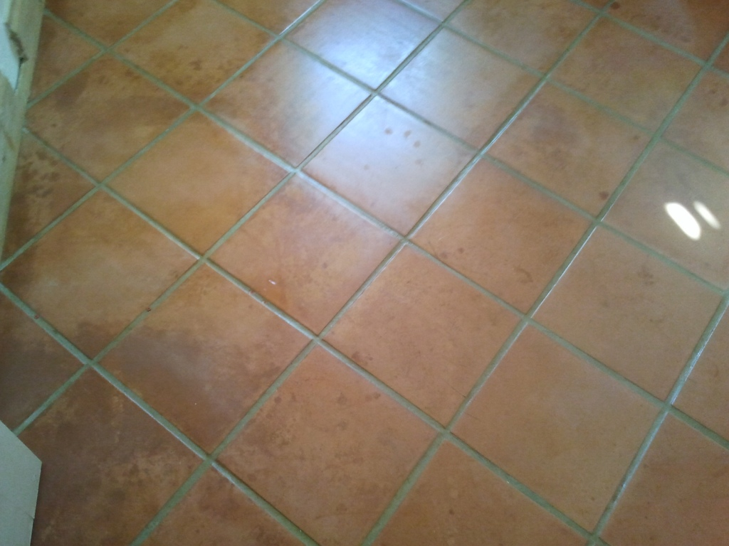 Cleaning Terracotta Floors in the Kitchen