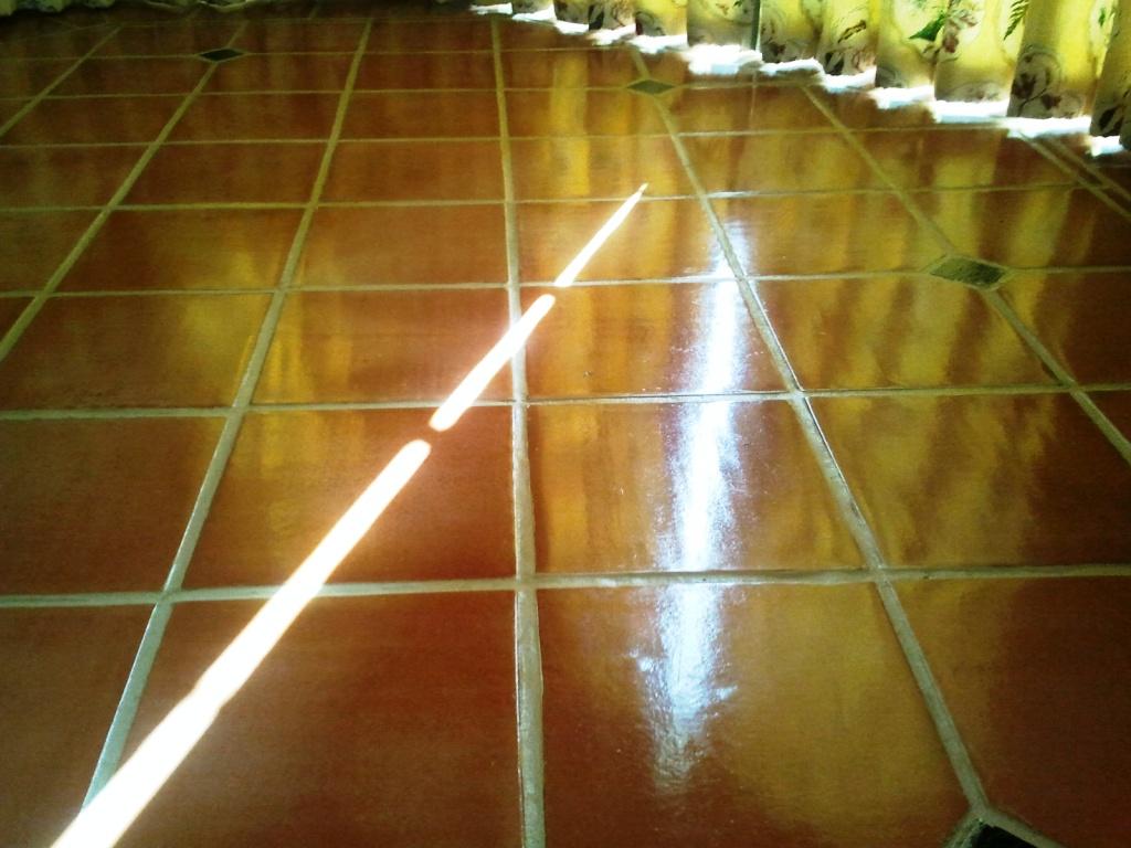 Sealing Terracotta Floor in the Kitchen
