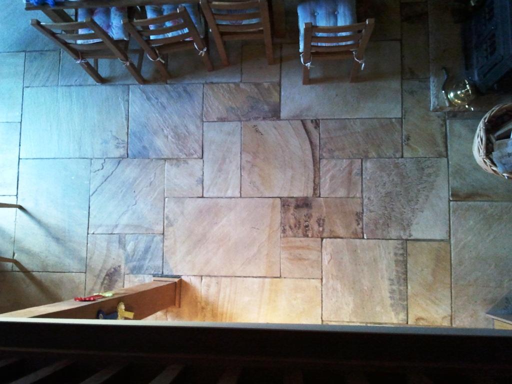 Indian Sandstone After Sealing