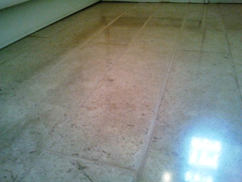 Marble Tile Cleaned