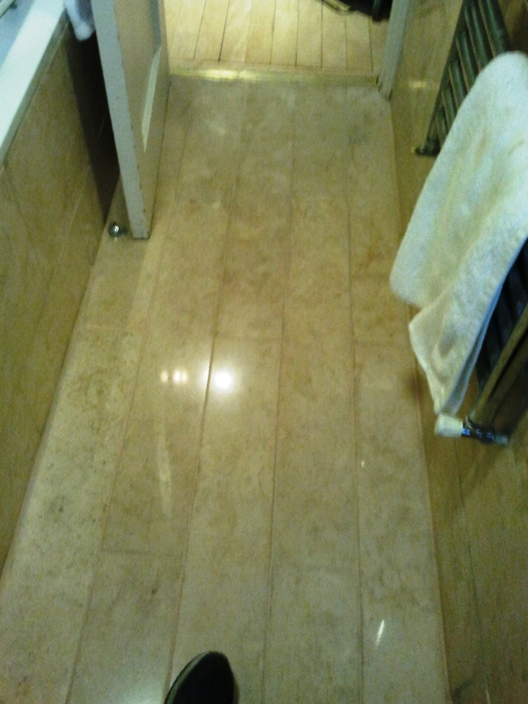 Marble Tiles Cleaned and Polished