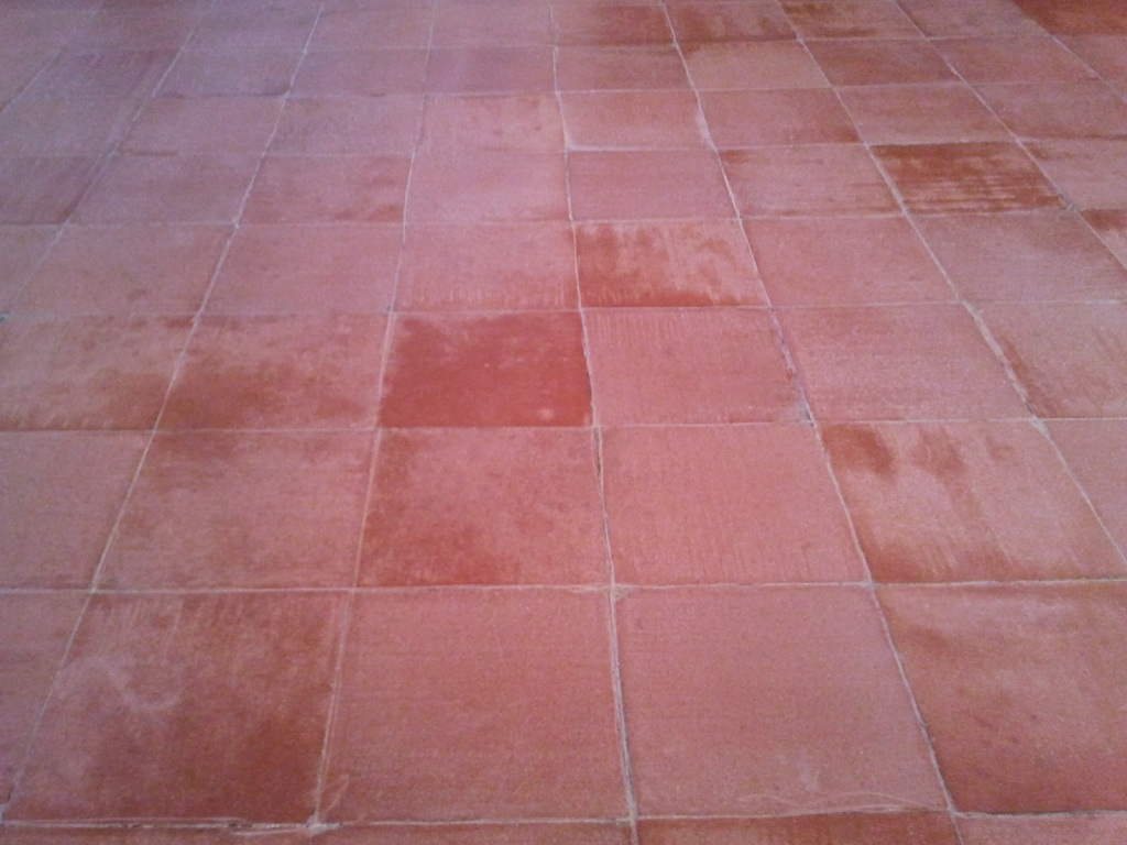 Quarry Tiles Before Cleaning