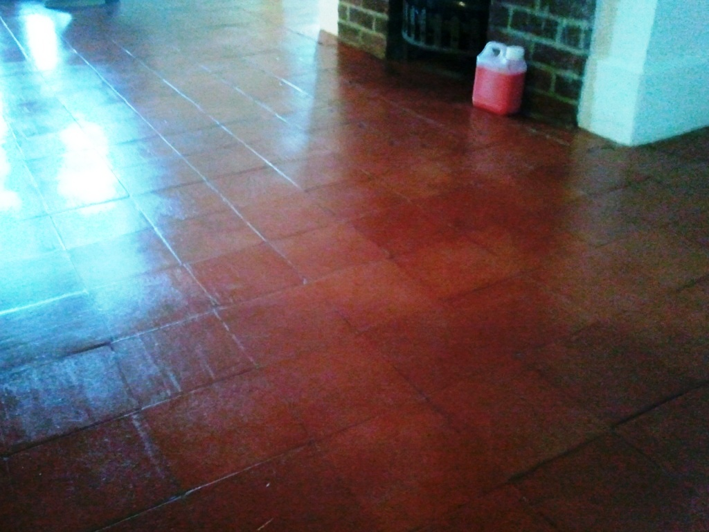 Quarry Tiles Restored