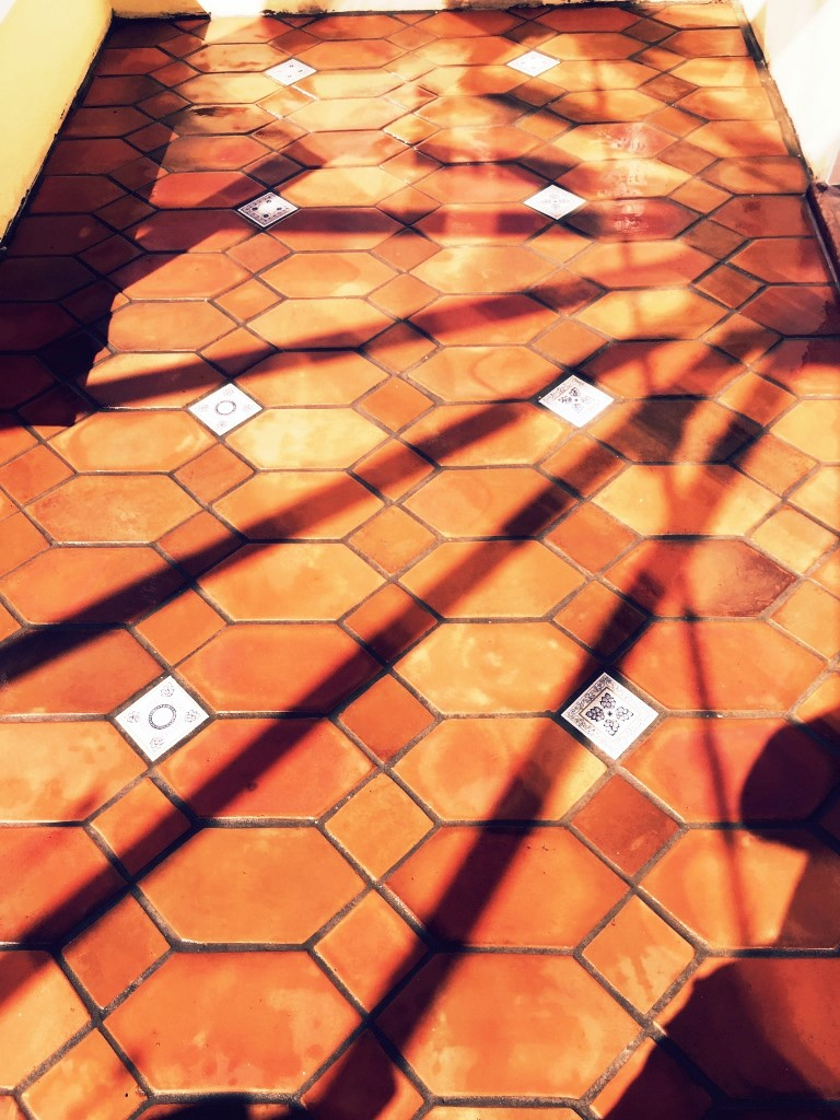 Terracotta Conservatory Cranliegh During Cleaning
