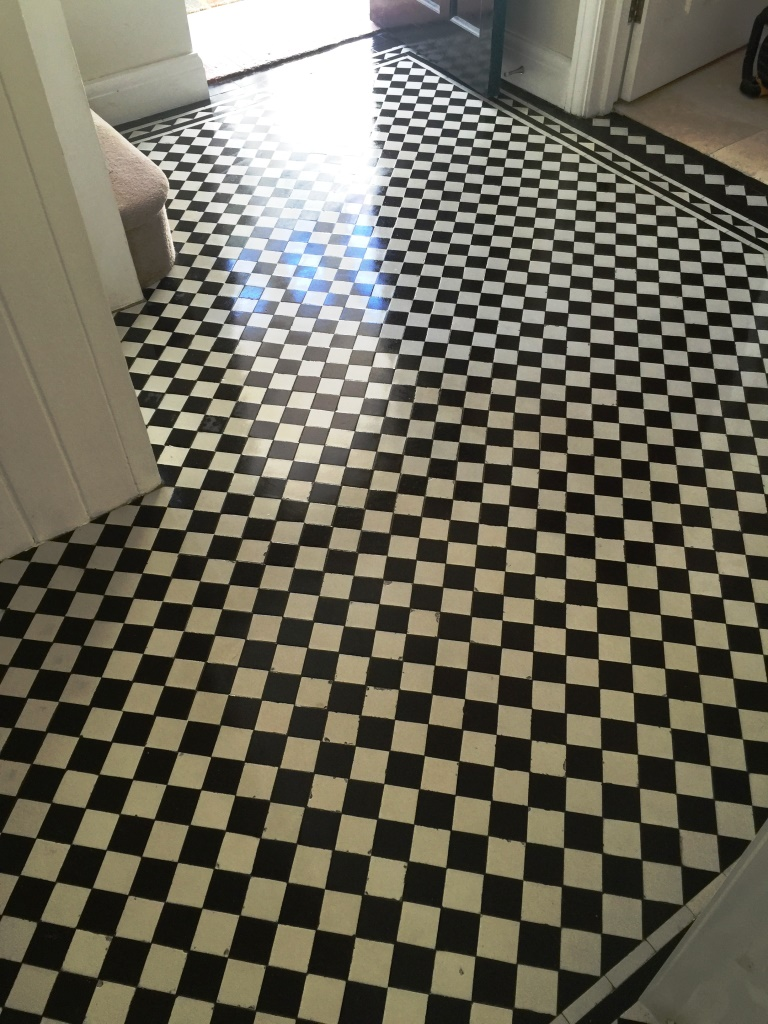Victorian Hallway Floor West Byfleet After Sealing