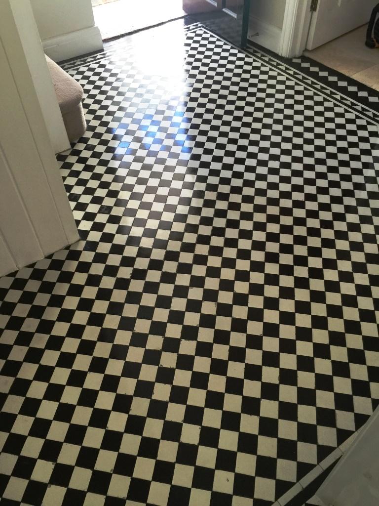 Victorian Hallway Floor West Byfleet After Sealing