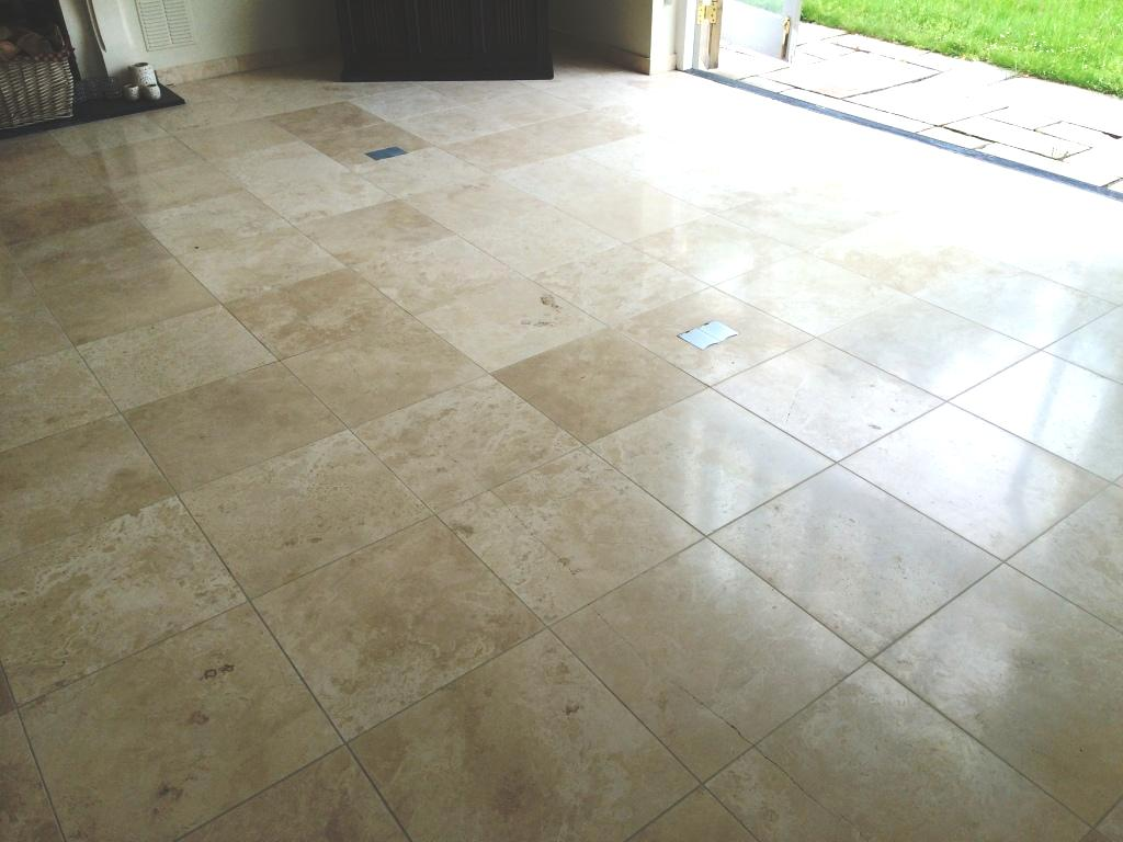 Removing Acid Etching From Polished Limestone