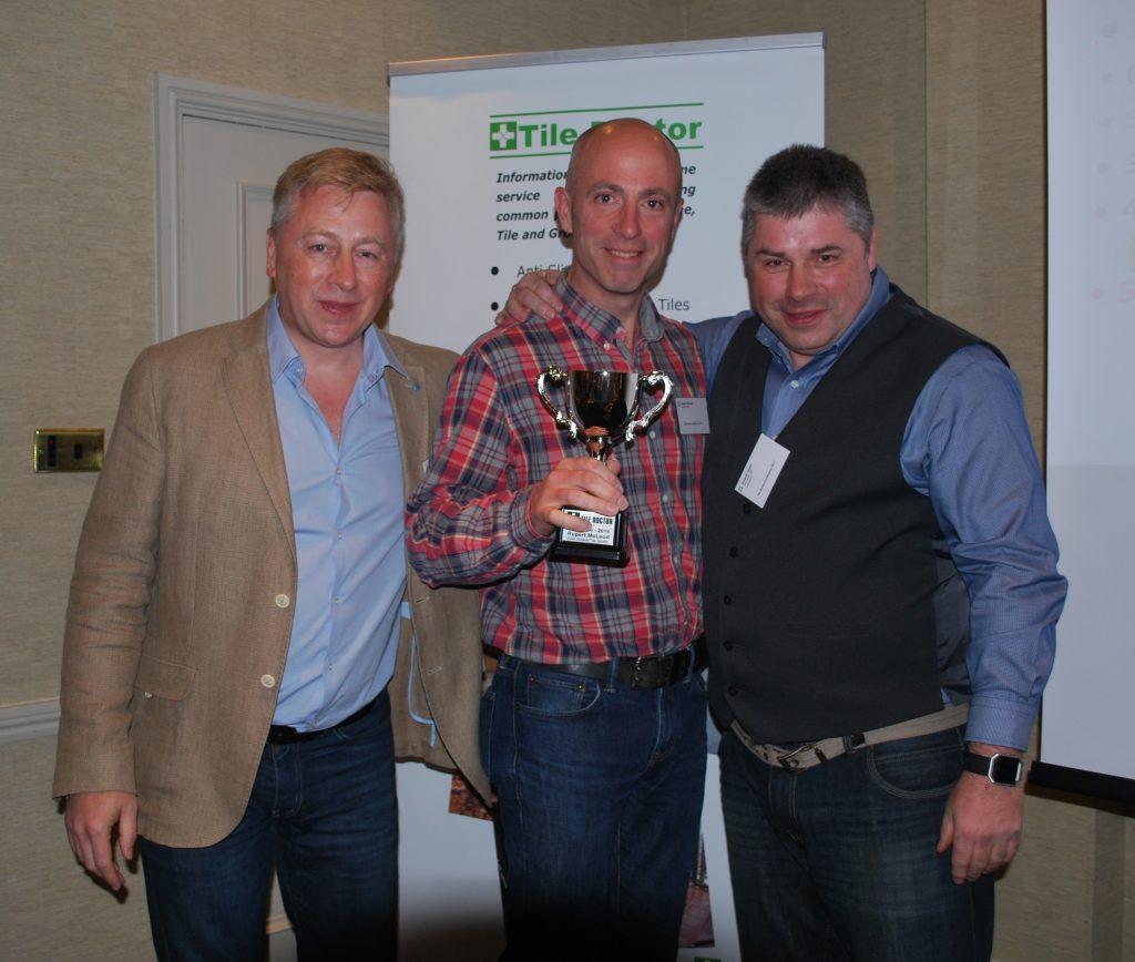 Rupert Mcleod 2016 Tile Doctor of The Year Runnerup Award