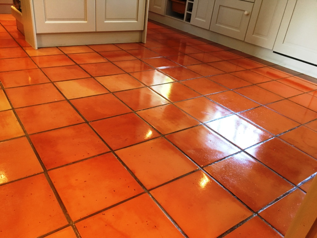 Stone cleaning and polishing tips for terracotta floors terracotta floor tiles after cleaning kingston on thames dailygadgetfo Choice Image
