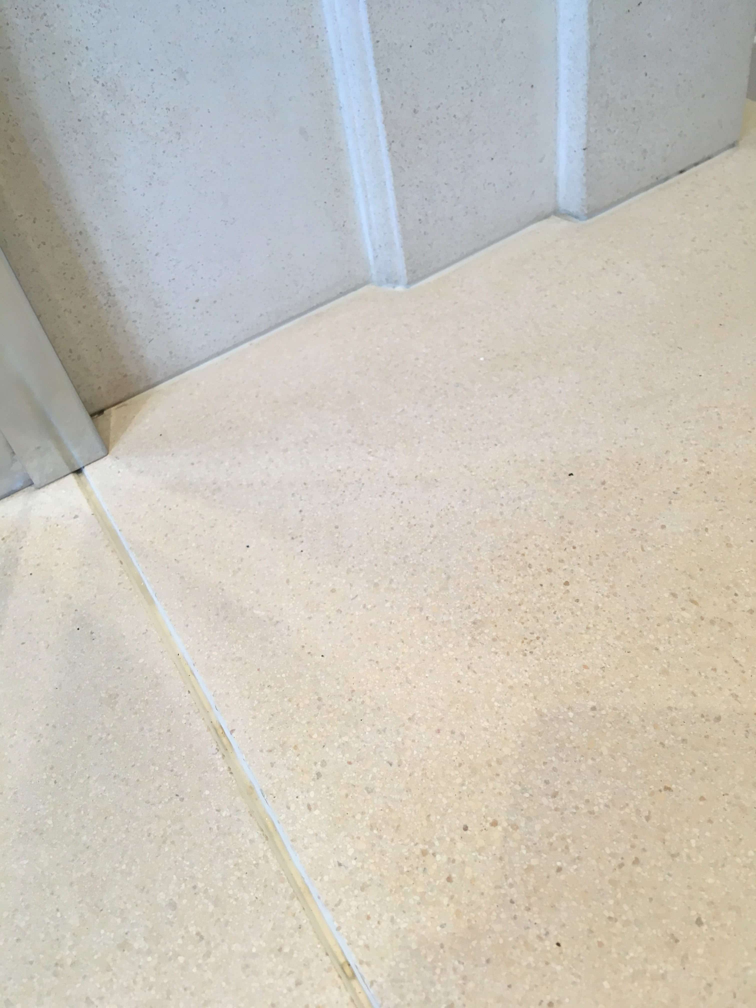 Limestone Fireplace After Wine Stain Removal Woking