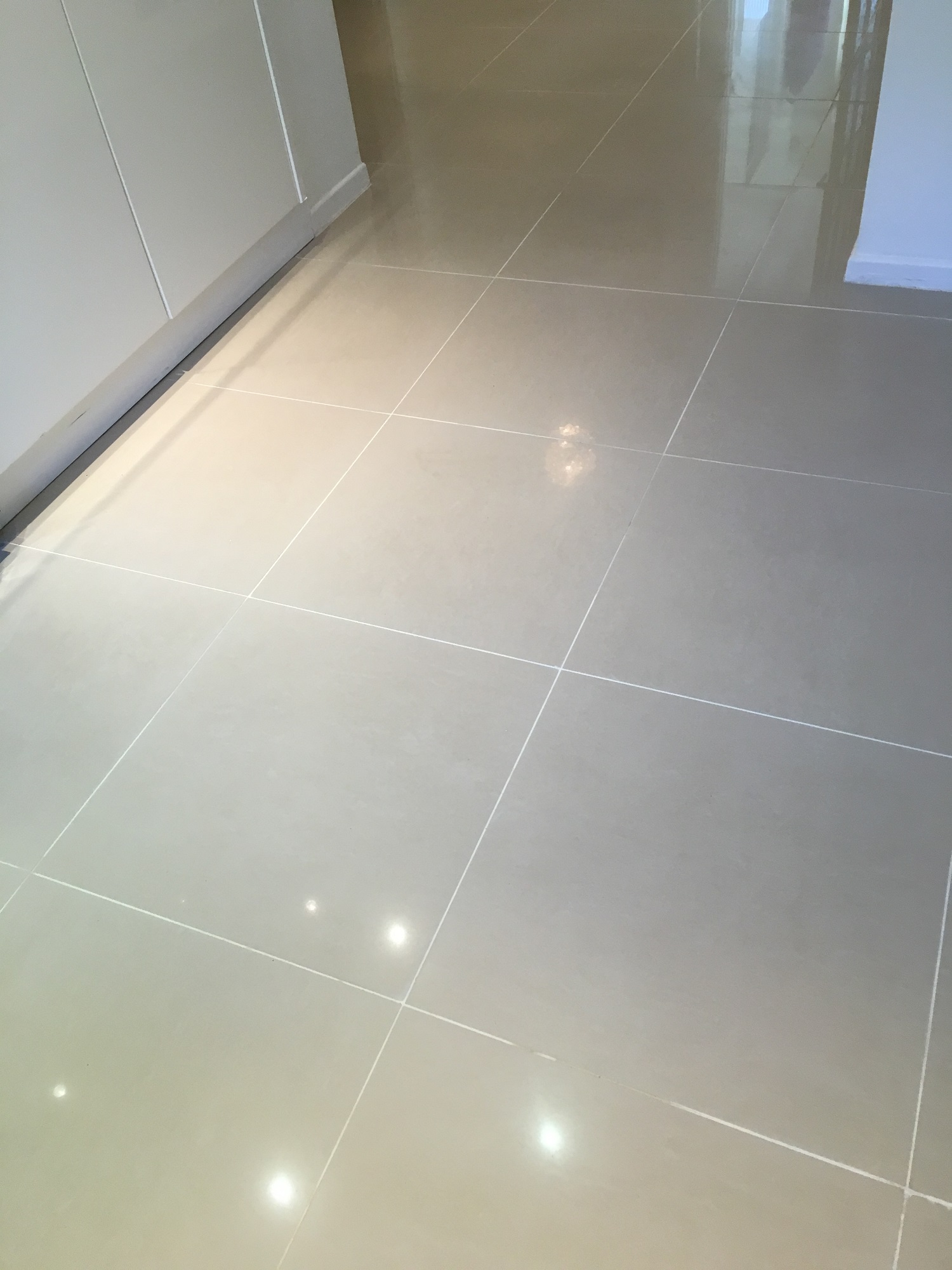 Floor Grout Before Replacement Cobham
