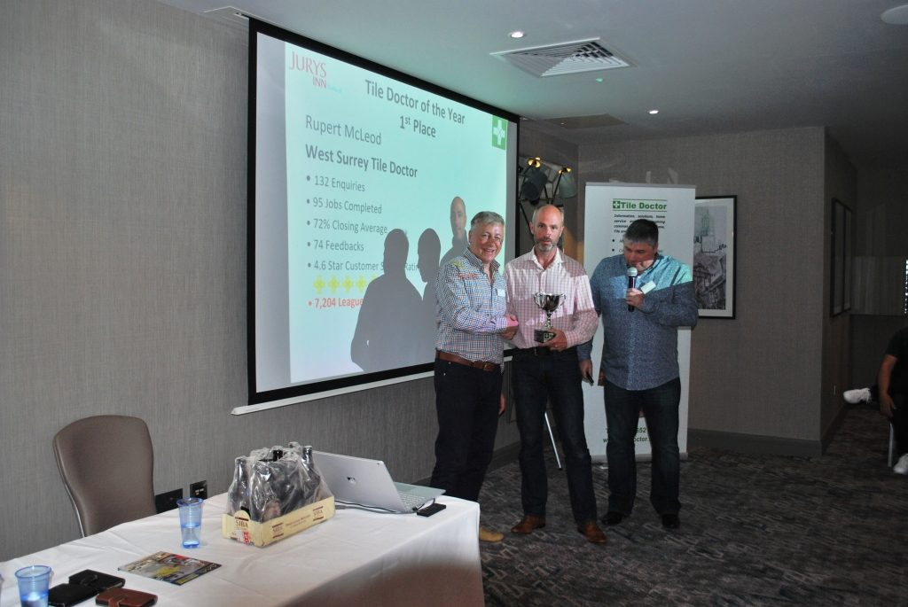 Rupert McLeod Tile Doctor of the Year 2017