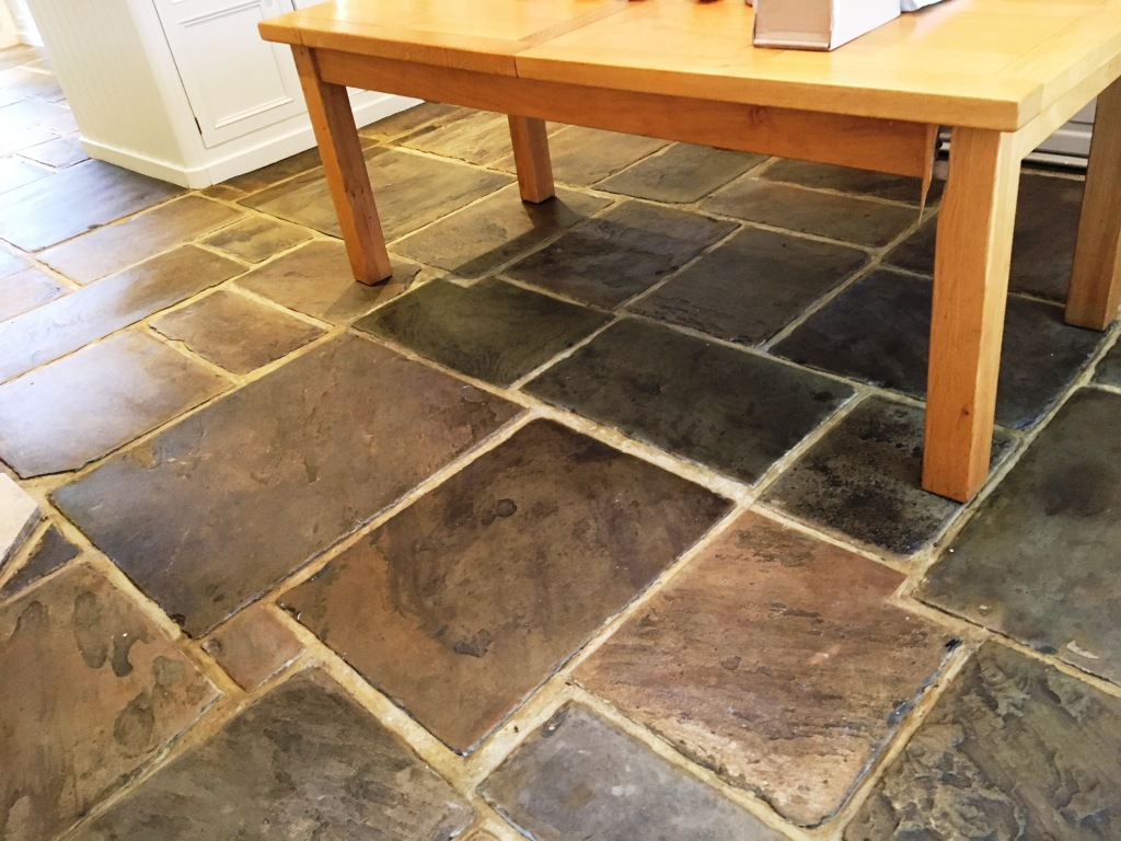 400 Year Old Flagstone Floor After Restoration Ripley