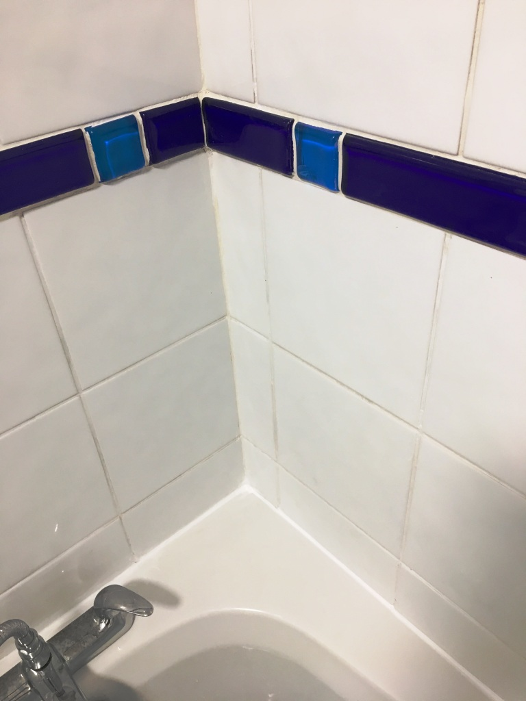 Bath Shower Tile Grout After Renovation Guildford