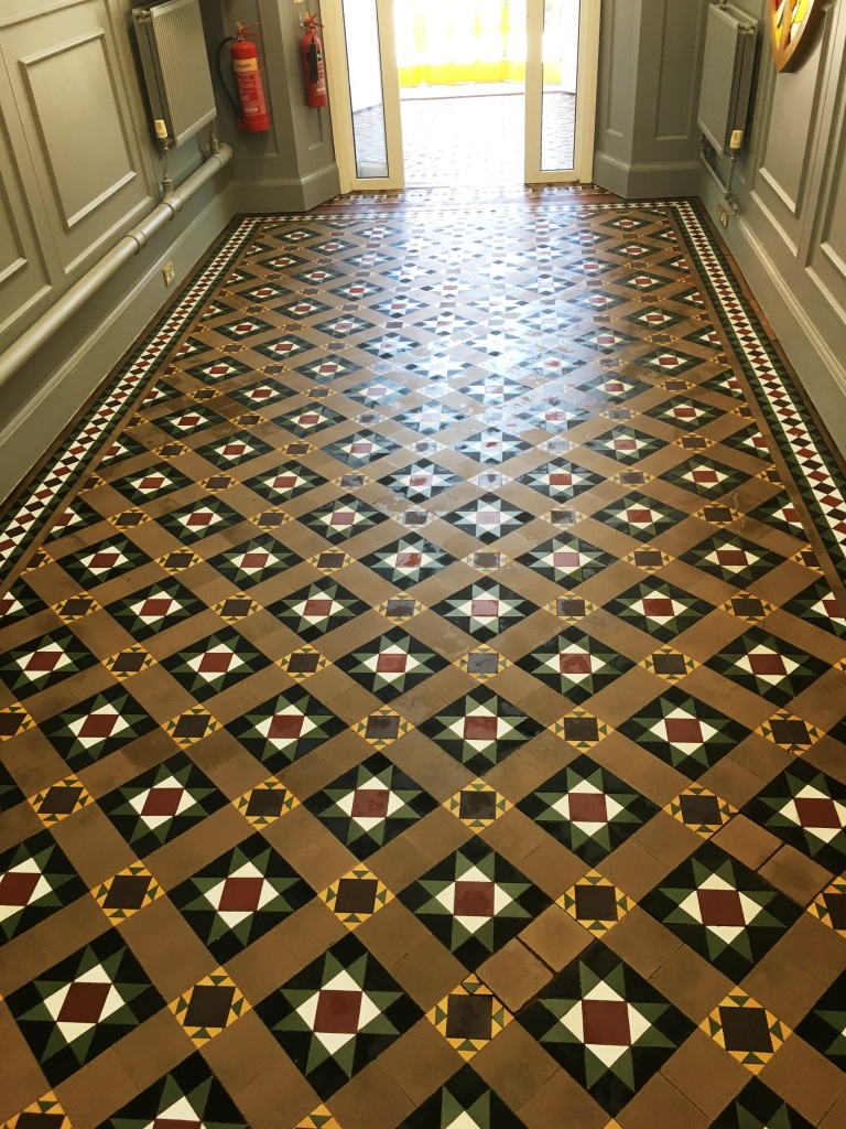 Victorian Floor After Sealing Weybridge College