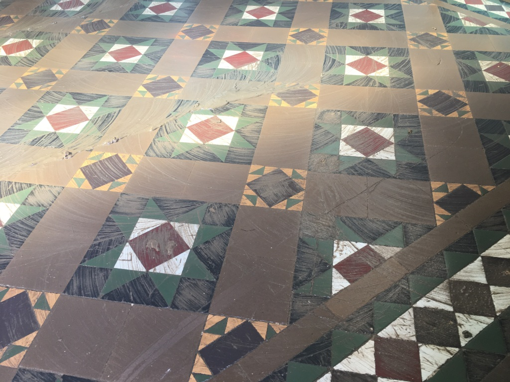 Victorian Floor During Adhesive Removal Weybridge