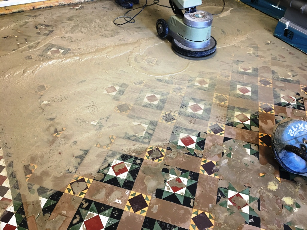 Victorian Floor During Screed Removal Weybridge