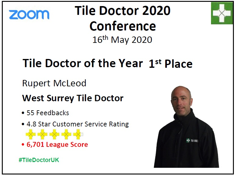 2019 Tile Doctor of the Year Winner