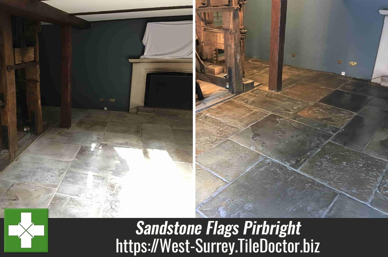 300-Year-Old-Sandstone-Flagstone-Floor-Renovation-Pirbright_Mill